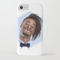 danny haas iPhone & iPod Cases featuring Danny Brown by LinnMaria_ink