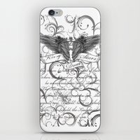scripture iPhone & iPod Skins featuring Kingdom Stars Scripture by KingdomStarsClothing