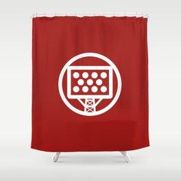 Tricolour Logo Shower Curtain