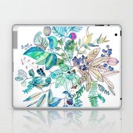 Botanical Mandala Watercolor Painting Laptop & iPad Skin
