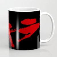 grafitti Mugs featuring Akira Grafitti by InvaderDig