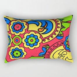 African Style No5 Rectangular Pillow