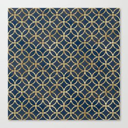The Geometric Abstract Pattern Canvas Print