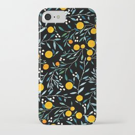 95eff8acda9643 Oranges Black iPhone Case