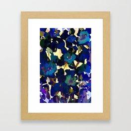 Daffodil Blue Framed Art Print