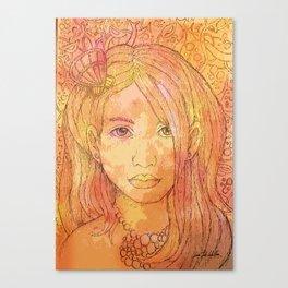 Sirenita Canvas Print