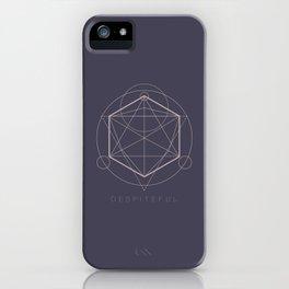 Despiteful - Wicked Geometry Series iPhone Case