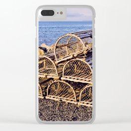 Lobster Traps Clear iPhone Case