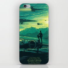 The Force Awakens Alternative Poster design iPhone & iPod Skin