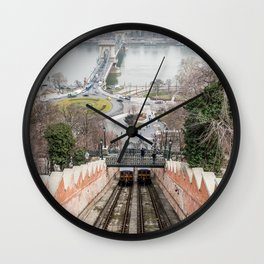 Funicular. Wall Clock