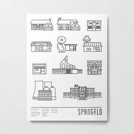 SPRNGFLD Metal Print