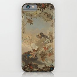 Allegory of the Planets and the Continents by Giovanni Battista Tiepolo iPhone Case