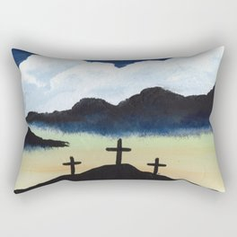 It Is Finished Rectangular Pillow