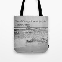 jane austen Tote Bags featuring Jane Austen Every Day by KimberosePhotography
