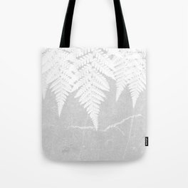 Fern fringe - concrete Tote Bag
