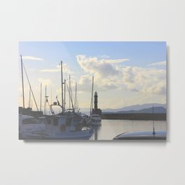 Crete Waters  Metal Print