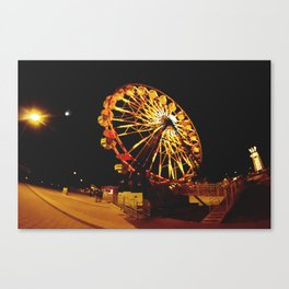 Night to remember. Canvas Print