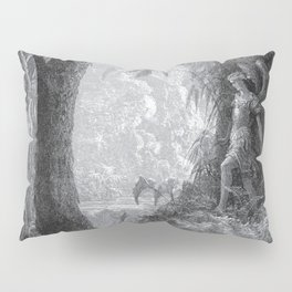 Gustave Dore: Paradise Lost XV Pillow Sham
