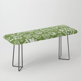 XMAS Green Pattern / Part One Bench
