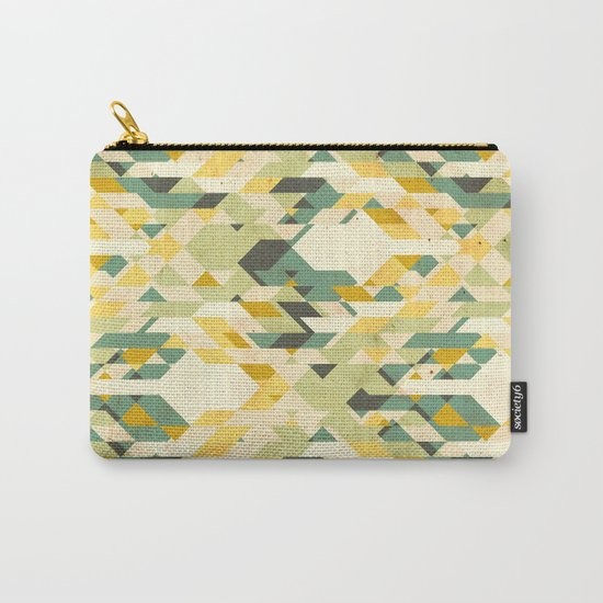 des-integrated tartan pattern Carry-All Pouch