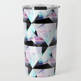 triangular pattern Travel Mug