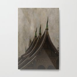Temple of the golden city Luang Prabang Laos Metal Print