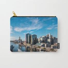Sydney City and Barangaroo Panoramic View form Darling Harbour in Australia. Carry-All Pouch