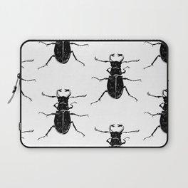 MINIMAL + MONOCHROME BEETLE PATTERN Laptop Sleeve