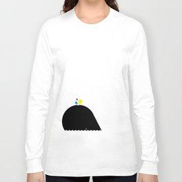 CMYK Whale Long Sleeve T-shirt