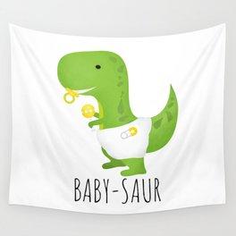 Baby-saur Wall Tapestry