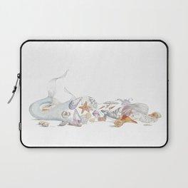 Beached Mermaid Laptop Sleeve