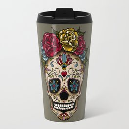 """SUGAR SKULL"" Travel Mug"