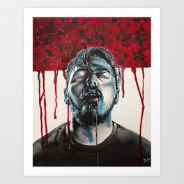 Infected Art Print