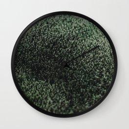 Icelandic Moss Wall Clock