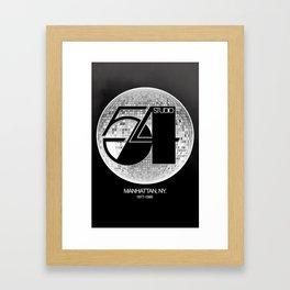 Studio 54 - Discoteque Framed Art Print