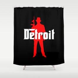 Detroit mafia Shower Curtain