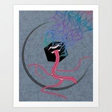 Iron Lung Art Print