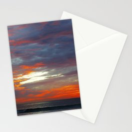 Scattered Fire Stationery Cards