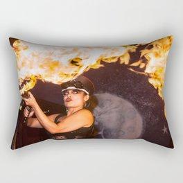 Feel The Burn Rectangular Pillow