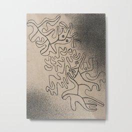 Paul Klee - Never Ending Metal Print