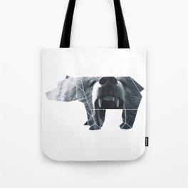 ORIGAMI BEAR Tote Bag