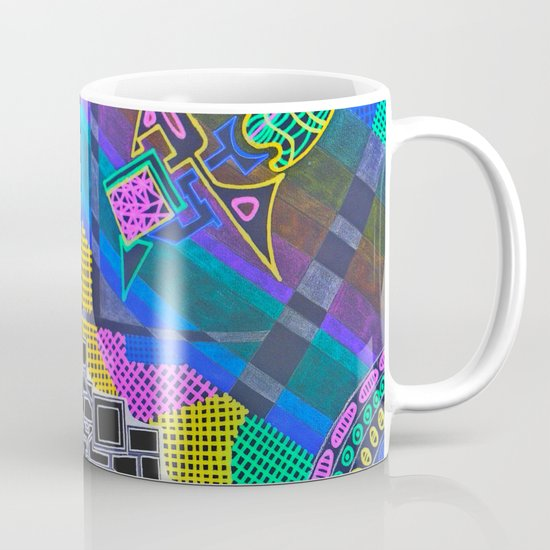 Abstract 2B Coffee Mug