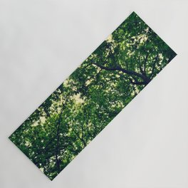 In the woods the light through leaves Yoga Mat