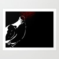 pigeon Art Prints featuring Pigeon by Sarah C