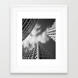 Between Framed Art Print