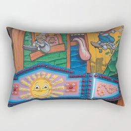 comfort food Rectangular Pillow