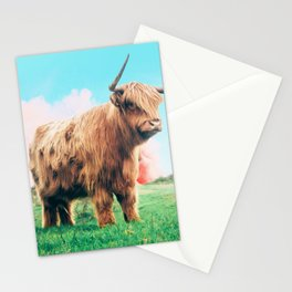 Highland Cow #society6 #decor #buyart Stationery Cards