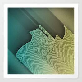 Joy – Stone Dark Art Print