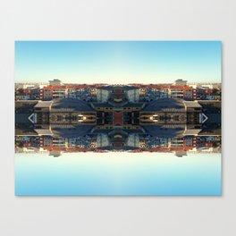 The Mirror City Canvas Print