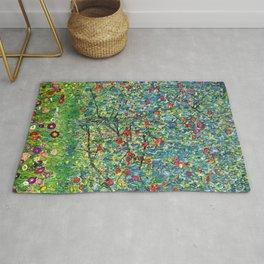 """Gustav Klimt """"Apple tree"""" Rug"""